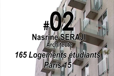 PA#02 - Housing building for 164 student Flats, 2003, Paris 15